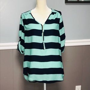 Rue21 Striped Blouse